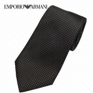 EMPORIO ARMANI エンポリオアルマーニ ネクタイ ドット ダークグレー 340182 8a314 メンズ|suemune