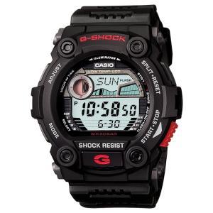 G-SHOCK 腕時計 ジーショック ブラック×レッド g7900-1 海外モデル デジタル 月齢 タイドグラフ カシオ メンズ suemune