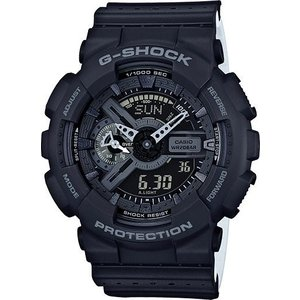 G-SHOCK 腕時計 ジーショック ブラック×ブラック ga110lp-1a  海外モデル アナログ×デジタル  カシオ メンズ suemune