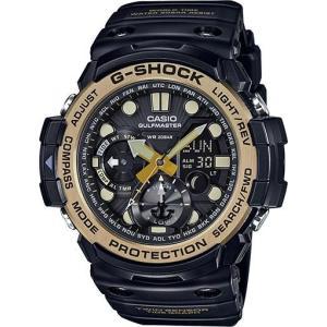 G-SHOCK 腕時計 ジーショック ブラック×ゴールド  gn1000gb-1a 海外モデル アナログ×デジタル  カシオ メンズ マスターオブG suemune