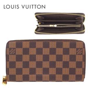 LOUIS VUITTON ルイヴィトン 長財布 ダミエ ジッピーウォレット エベヌ n60015|suemune
