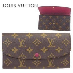 LOUIS VUITTON ルイヴィトン 長財布 モノグラム ポルトフォイユ・エミリー フューシャ m60697|suemune
