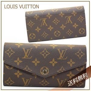LOUIS VUITTON ルイ・ヴィトン 長財布 モノグラム ポルトフォイユ・サラ m60531 レディース|suemune