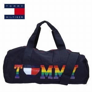 トミーヒルフィガー ボストンバッグ ダッフルバッグ ネイビー×マルチカラー Lサイズ TOMMY HILFIGER m86944831-416 レディース|suemune