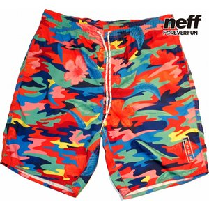 Neff | Thunder Tropic Hot Tubs Shorts 水着 ショーツ|suffice