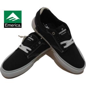 EMERICA | REYNOLDS LOW VALC (エメリカ | レイノルズロー) スエード BLACK ブラック|suffice