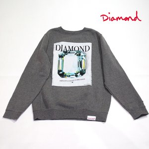 DIAMOND SUPPLY CO. | DIAMOND RING CREWNECK UNISEX(男女共通) 送料・代引料無料|suffice