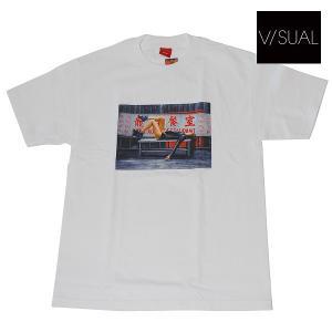 V/SUAL | HERALD TEE | カラー:WHITE(ホワイト) UNISEX|suffice