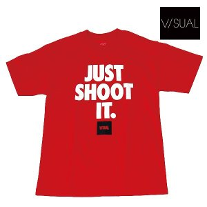 V/SUAL | JUST SHOOT TEE | カラー:WHITE(ホワイト) UNISEX|suffice
