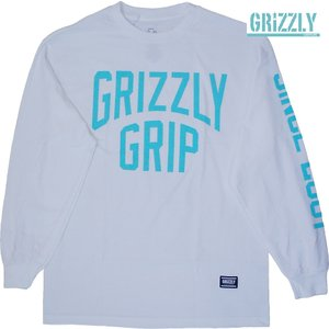 GRIZZLY | BIG CITY LONG-TEE  | WHITE UNISEX(男女共通) |suffice