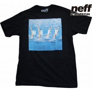 NEFF | SWIM SQUARE TEE (ネフ | スウィムスクエアーTEE) #16P29043 WHITE UNISEX|suffice