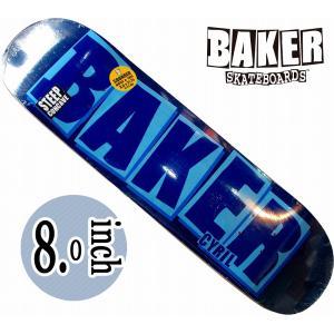 デッキテープ無料 BAKER SKATEBARD(ベイカー) | BRAND NAME CHACOAL | BACA 送料無料|suffice