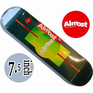 デッキテープ無料 ALMOST SKATEDECK / TEAMシリーズ GRADIENT FOREST ガールズ・キッズサイズ|suffice