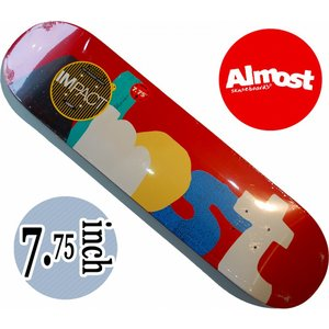 デッキテープ無料 ALMOST SKATEDECK / IMPACTシリーズ ORGANICS IMPACT LIGHT YURI|suffice