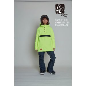 スノボー ウェア  AA GIRL | Cheef JACKET(ダブルエーガール・チーフジャケット)  送料無料 2020-21モデル|suffice