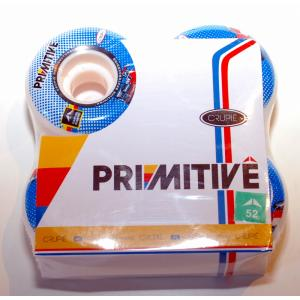 Crupie Wheel/Primitive コラボ Carlos Ribeiro モデル 1SET(4個) 52mm×31mm|suffice