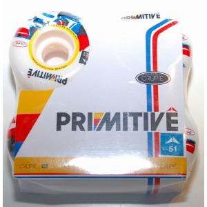 Crupie Wheel/Primitive コラボ Tiago Lemos モデル 1SET(4個) 51mm×31mm|suffice