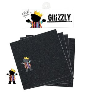 GRIZZLY(グリズリー)スケートボード用デッキテープ GUSTAVO STAMP GRIPTAPE|suffice