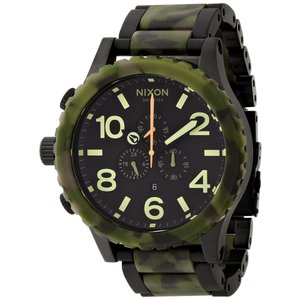 ニクソン NIXON | 51-30 CHRONO MATTE BLACK/CAMO NA0831428-00|suffice