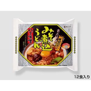 (即席)八丁味噌煮込うどん 1箱(12食入)|sugakiyasyokuhin