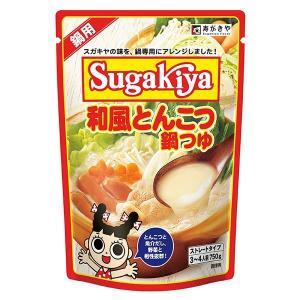 SUGAKIYA和風とんこつ鍋つゆ1袋|sugakiyasyokuhin