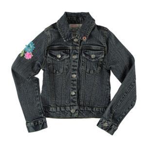 Mim-pi(ミンピ)フラワー刺繍デニムジャケット|sugardays