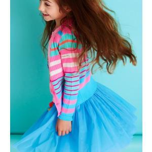 Mim-pi(ミンピ)ブルーのチュールスカート|sugardays