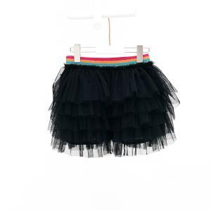 Mim-pi(ミンピ)ブラックチュール ティアードスカート 20%Off|sugardays