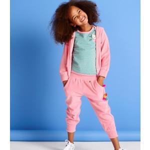 Mim-pi(ミンピ)ピンクのパイルパンツ|sugardays