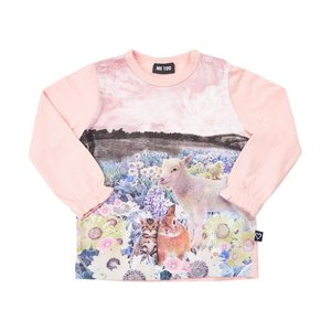 ME TOO【ミートゥー】フラワー&アニマルプリント L/S Tee(SIZE80〜110)20%off|sugardays