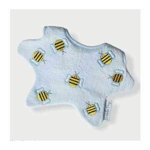 Dribble Days(ドリブルデイズ)Seven bumblr bees baby blue bib|sugardays