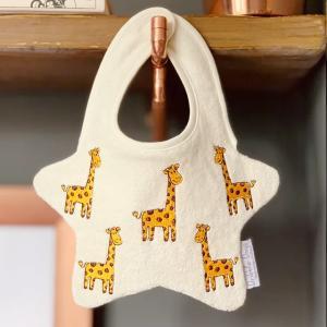 Dribble Days(ドリブルデイズ)Giraffe cream bib|sugardays