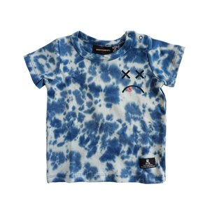 Rock Your Baby(ロックユアベビー)Cross Eyes SSTee Blue Tiedye(size6/12m〜)20%Off|sugardays