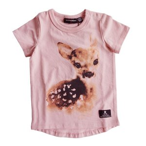 Rock Your Baby(ロックユアベビー)Fawn Darling SS tee Light pink(baby Size〜24m)20%Off|sugardays