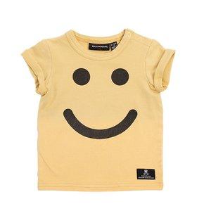 Rock Your Baby(ロックユアベビー)Be Happy-SS Tee(Baby size〜24m)|sugardays