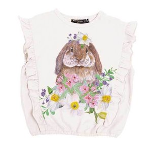 Rock Your Kid(ロックユアキッズ)Bunny Blossom S/ST-shirt(Kids Size2〜8)|sugardays
