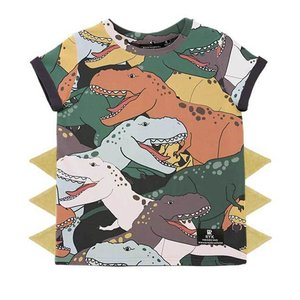 Rock Your Kid(ロックユアキッズ)Dino Stampede S/ST-shrt(Junior Size10〜12)|sugardays
