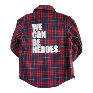 Rock Your Kid(ロックユアキッズ)We can be heroes-LS shrts(Size2〜)30%Off|sugardays