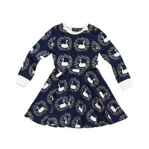 Rock Your Kid(ロックユアキッズ) Odette Ls Waisted Dress(Kids Size2〜8)|sugardays