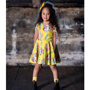 Rock Your Kid(ロックユアキッズ) Floral Chintz Waisted Dress(Kids Size2〜8)|sugardays