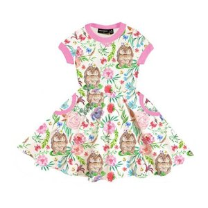 Rock Your Kid(ロックユアキッズ) Bunny Blossom Waisted Dress(Kids Size2〜8)|sugardays