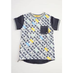 Deux par Deux (デューパーデュー)Roadrunner AOP t-shirt 30%off sugardays