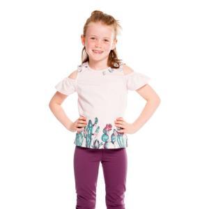 Deux par Deux (デューパーデュー)cold sholder t-shirt craddle pink 30%Off|sugardays
