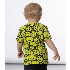 Deux par Deux (デューパーデュー)Painted Smiley Face Print T-Shirt (Baby size)20%Off|sugardays
