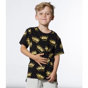 Deux par Deux (デューパーデュー)Poutine Print T-Shirt (Kids size)20%Off|sugardays
