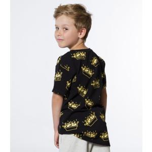 Deux par Deux (デューパーデュー)Poutine Print T-Shirt (Kids size)|sugardays|03