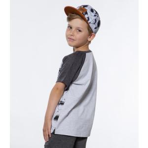 Deux par Deux (デューパーデュー)Shark Attack Print Raglan T-shirt (Kids size)|sugardays|03