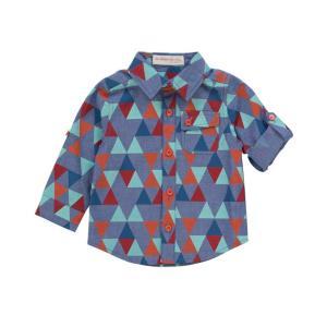 Deux par Deux (デューパーデュー)LaGrand bleu printed Shirt|sugardays