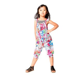 Deux par Deux (デューパーデュー)Safari Jersey Printed Jumpsuit 30%off|sugardays