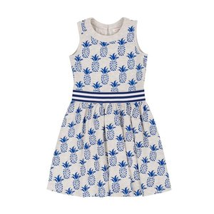 Deux par Deux (デューパーデュー)Cold Press… Pineapple Print Dress|sugardays
